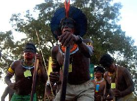 Kayapo Take Struggle to Brasilia