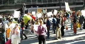 Afectados/as efectúan manifestaciones en el marco del Día Internacional de Lucha contra las Represas