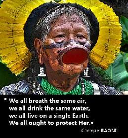 SAY YES TO THE AMAZON, NO TO BELO MONTE. Join the fight on the Amazon Planet Facebook page
