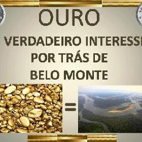 The scandal of gold that smells like death: an uncovered mining project reveals the true motive behind the construction of the Belo Monte Dam.
