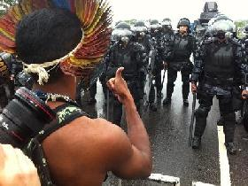 Brazil according to Dilma Rousseff: an economic dictatorship in opened war against the defenders of Amazonia ?