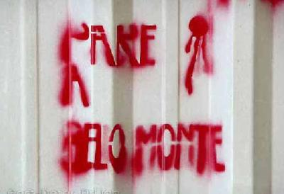 "BELO MONTE: the field for a ""new paradigm"" where blood sheds and violence predominates"