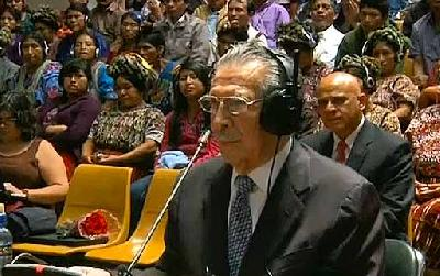 Former Guatemala dictator Rios Montt convicted of genocide against indigenous people
