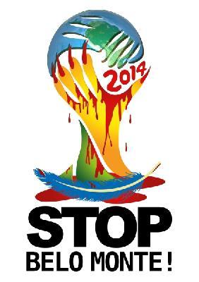 logo de la coupe du monde 2014 détourné