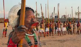 Chief Raoni Metuktire - Statement of support to the Munduruku people fighting future powerplants on the Tapajós and Teles Pires Rivers