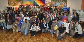Argentina. Indigenous Peoples' Summit held in Buenos Aires. Members condemn violation of their rights.