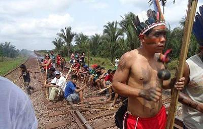 'Deadly' trans-Amazon railway sparks fear among tribes